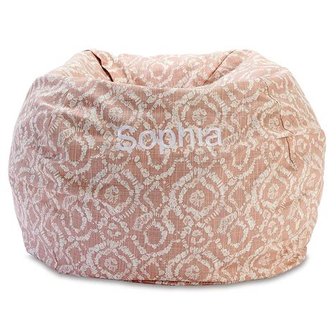 Blush Bean Bag Chair